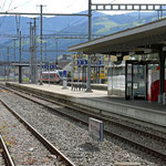Schweizer-Eisenbahnen Bahnhof Wattwil