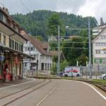 Schweizer-Eisenbahnen - Bahnhof Teufen