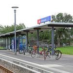 Schweizer-Eisenbahnen - Bahnhof Ermensee