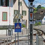 Schweizer-Eisenbahnen - Bahnhof Matzingen