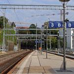 Schweizer-Eisenbahnen - Bahnhof Lugano
