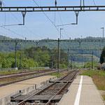 Schweizer-Eisenbahnen - Bahnhof Etzwilen