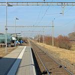 Schweizer-Eisenbahnen - Bahnhof Kesswil
