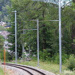 Schweizer-Eisenbahnen - Bahnhof Fiesch Feriendorf
