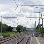 Schweizer-Eisenbahnen - Bahnhof Felben-Wellhausen