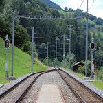 Schweizer-Eisenbahnen - Bahnhof Grengiols