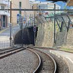 Schweizer-Eisenbahnen Bahnhof Lugano