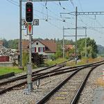 Schweizer-Eisenbahnen Bahnhof Häggenschwil-Winden