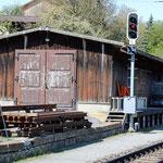 Schweizer-Eisenbahnen Bahnhof Castrisch