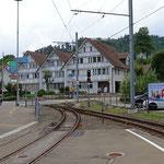 Schweizer-Eisenbahnen Bahnhof Teufen