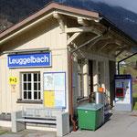 Schweizer-Eisenbahnen Bahnhof Leuggelbach