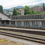 Schweizer-Eisenbahnen - Bahnhof Rorschach