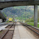 Schweizer-Eisenbahnen Bahnhof Jenaz