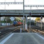 Schweizer-Eisenbahnen Bahnhof Rüti ZH