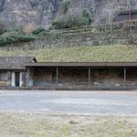 Schweizer-Eisenbahnen - Bahnhof Giornico