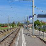 Schweizer-Eisenbahnen Bahnhof Stein am Rhein