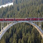 Juli 2017: Langwieser Viadukt (Aufnahme vom März 2017).