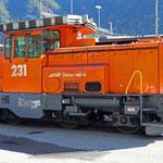 Schweizer-Eisenbahnen - Gm 3/3 * 231