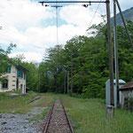 Januar 2019: Unterwegs auf den Gleisen der FM - Ferrovia Mesolcinese. (Aufnahme vom Mai 2008.)