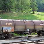 Schweizer-Eisenbahnen RhB Güterwagen Za - 8109