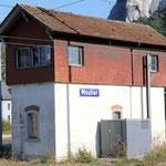 Schweizer-Eisenbahnen Bahnhof Moutier