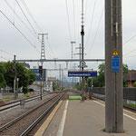 Schweizer- Eisenbahnen Bahnhof Schwerzenbach