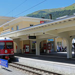Schweizer-Eisenbahnen Bahnhof Davos Platz