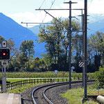 Schweizer-Eisenbahnen Bahnhof Igis