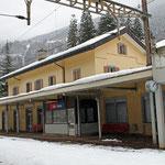 Schweizer-Eisenbahnen Bahnhof Faido