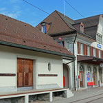 Schweizer-Eisenbahnen - Bahnhof Waldstatt