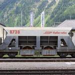Schweizer-Eisenbahnen RhB Güterwagen Xac - 8738