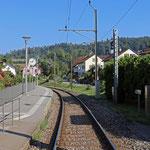 Schweizer-Eisenbahnen Bahnhof Sitterdorf