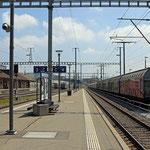 Schweizer-Eisenbahnen - Bahnhof Gossau SG