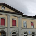 Schweizer Eisenbahnen - Bahnhof Ziegelbrücke