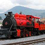 Juni 2017: Bahnhof von Quito, Ekuador (Aufnahme vom April 2011).