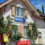 Schweizer-Eisenbahnen - Bahnhof Schwendi (bei Heiden)