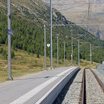 Schweizer-Eisenbahnen Bahnhof Bernina Diavolezza