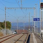 Schweizer-Eisenbahnen Bahnhof Burghalden