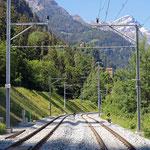 Schweizer-Eisenbahnen - Bahnhof Sils im Domleschg