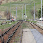 Schweizer-Eisenbahnen - Bahnhof Ardez