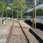 Schweizer-Eisenbahnen - Bahnhof Oensingen