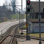 Schweizer-Eisenbahnen - Bahnhof Baldegg
