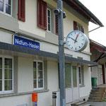 Schweizer-Eisenbahnen - Bahnhof Nidfurn-Haslen