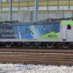 Schweizer-Eisenbahnen - Re 485 / 019