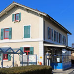 Schweizer-Eisenbahnen - Bahnhof Güttingen