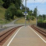 Schweizer-Eisenbahnen - Bahnhof Oberdorf BL Winkelweg