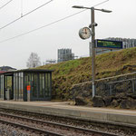 Schweizer-Eisenbahnen - Bahnhof Oberaach