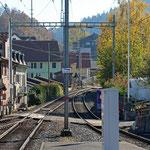 Schweizer-Eisenbahnen - Bahnhof Schindellegi-Feusisdorf