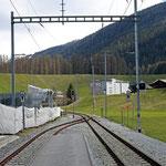 Schweizer-Eisenbahnen - Bahnhof Davos Frauenkirch