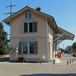 Schweizer-Eisenbahnen - Bahnhof Arnegg